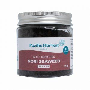 pacific harvest nori wild flakes jar