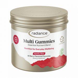 radiance sugar free multi vitamin gummies for adults