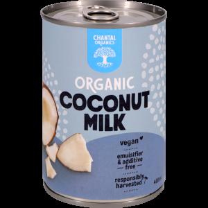 Coconut milk front shot