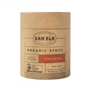 SANELK Organic Chicken Bone Stock 160g 1