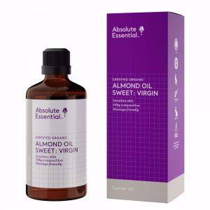 Absolute Essential almond oil sweet virgin organic 100ml