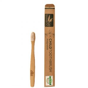 GOBamboo Toothbrush Child 1