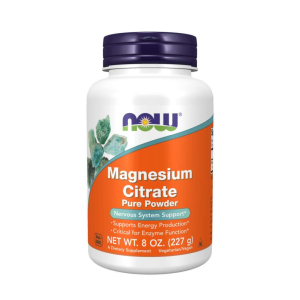 NOW mag citrate pure powder