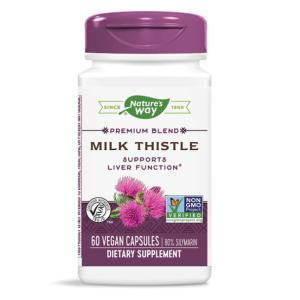 natures way milk thistle